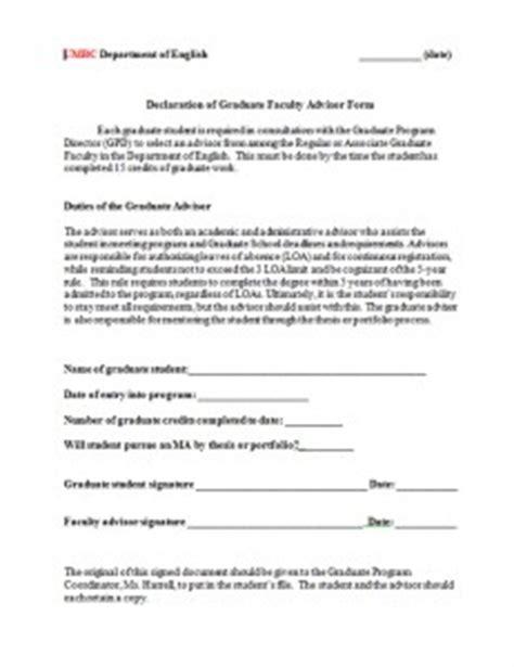 phd change advisor dissertation declaration