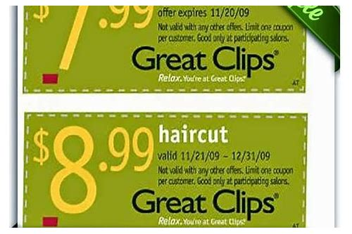 great clips watsonville coupons