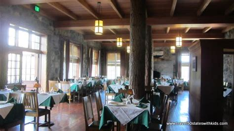crater lake lodge dining room oregon crater lake national park travel 50 states with