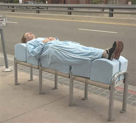 homeless bench exclusionary strategies laws and designs used to oust