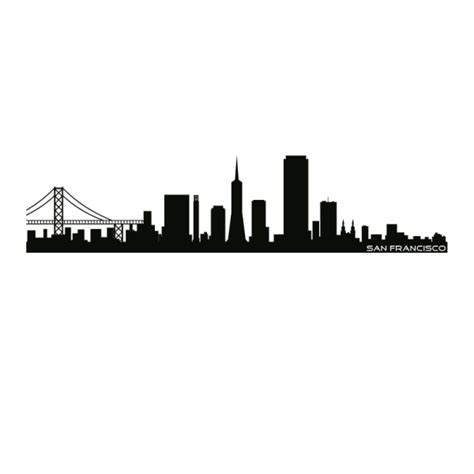 wandtattoo skyline san francisco wandtattoo skylines