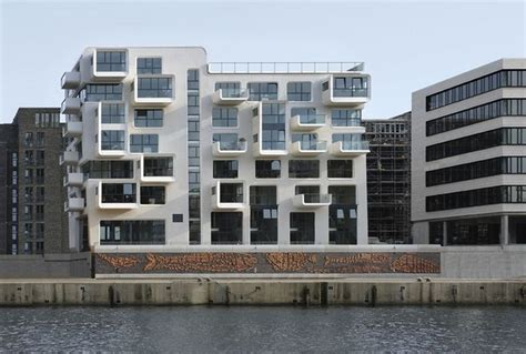 Apartment Building Design Architecture Impressive Apartment Building In Hamburg By