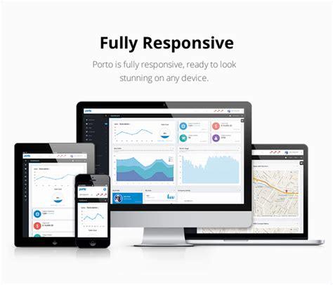 themeforest porto porto admin responsive html5 template site templates