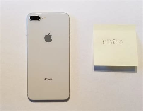 yhd850 apple iphone 8 plus unlocked for sale 820 swappa