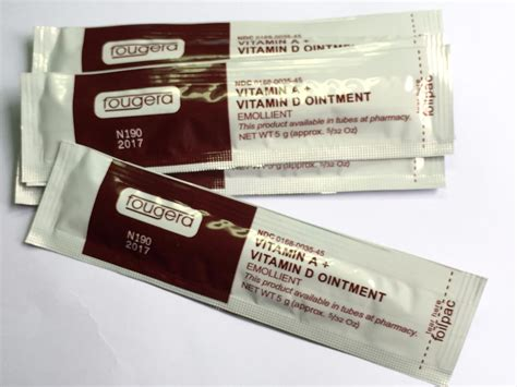 fougera tattoo ointment free shipping 50pcs lot fougera vitamin a vitamin d