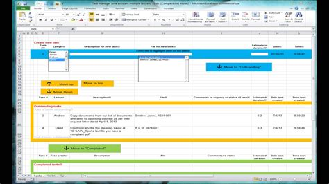 Shared Spreadsheet by Excel Spreadsheet For Tracking Tasks Shared Workbook Doovi