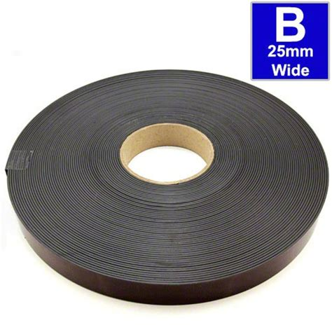 self adhesive self adhesive magnetic tape magnet strip a b 1 5mm x 25