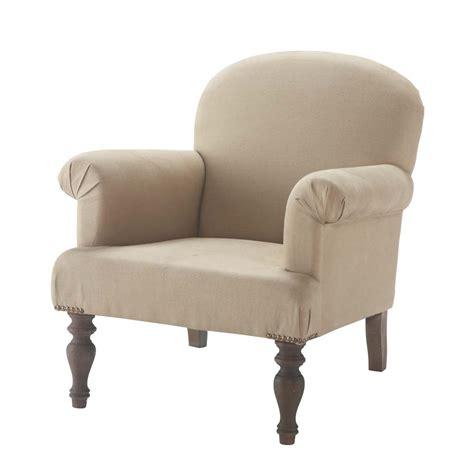 linen armchairs linen armchair gabin maisons du monde
