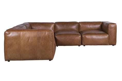 Compact Leather Corner Sofa Small Brown Leather Corner Sofa Stunning Baslow Brown Leather Corner Sofa Footstool