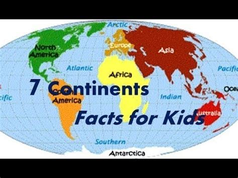 7 Facts For by Seven 7 Continents Interesting Facts For Safeshare Tv