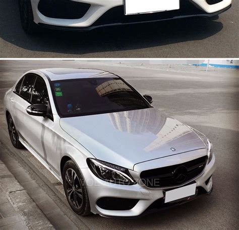 Logo Grill Amg By M Auto 2015 2016 w205 change to amg style with amg logo black