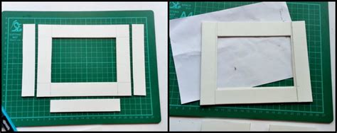How To Make A Paper Frame - how to make a paper quilled photo frame paper crafts