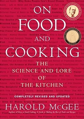 Pdf Food Cooking Science Lore Kitchen by On Food And Cooking The Science And Lore Of The Kitchen