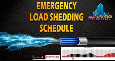 Load Scheduling And Load Shedding by Emergency Load Shedding Schedule 02 11 2014 Kimberley