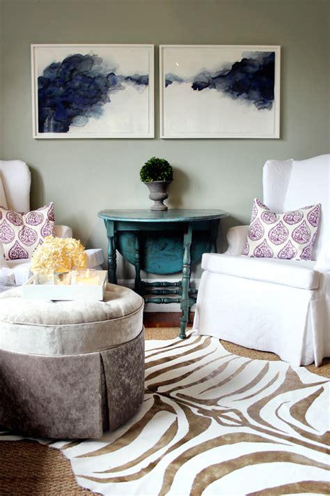 diy zebra print room decor floored by design 11 diy rug projects