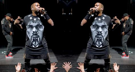 Kanye And Rock The Givenchy Show by Kanye West Fashion Style Fashionsizzle