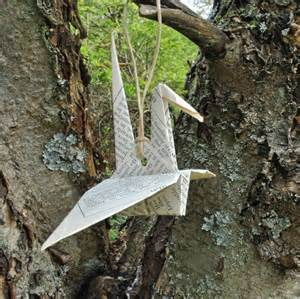 Origami Birds Wedding - origami bird decoration bird gift fillers