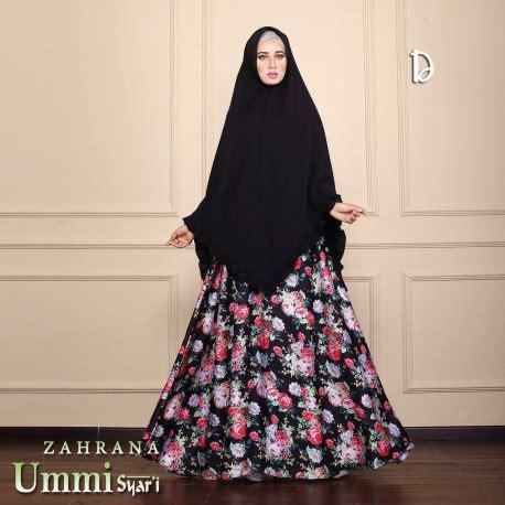 Gamis Zahrana Zahrana D Baju Muslim Gamis Modern