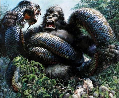 film anaconda vs kingkong king kong vs giant snake dap of kong the big ape