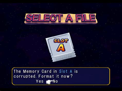 format file game ps2 recovering corrupt gamecube memory cards video games ssmb