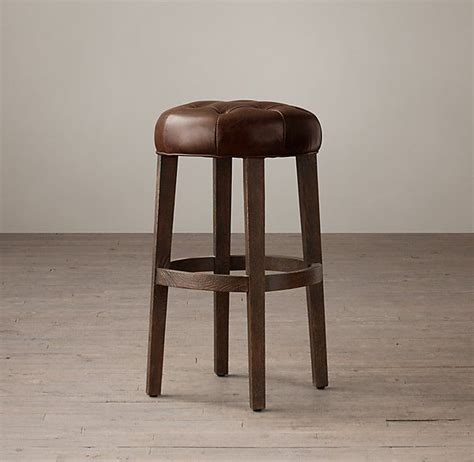 Stool For Afb by 1000 Ideas About Leather Stool On Kitchen