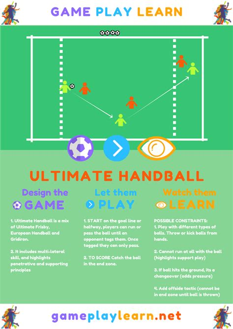 layout ultimate tournament ultimate handball game play learn