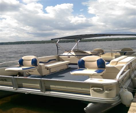 used pontoon boats for sale by owner in illinois crest pontoon boats for sale in michigan used crest