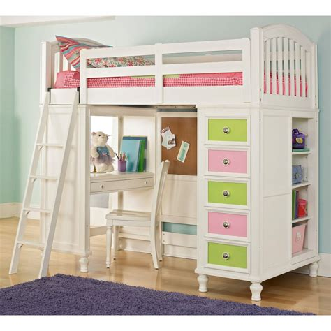 bunk bed with loft loft bed plans for kids bed plans diy blueprints