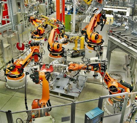bmw factory robots in the future will everyone be unemployed