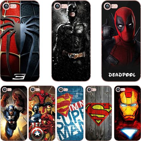 Casecassingcasing Soft Jelly Superman Comic For Iphone 6 ciciber phone cases dc batman superman deadpool marvel