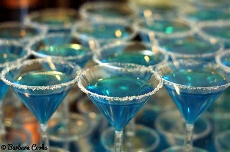 birthday themed jello shots blue jello shots in mini martini glasses for a tiffany