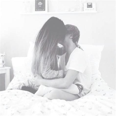 boy girl kissing bedroom image 1692567 by taraa on favim com