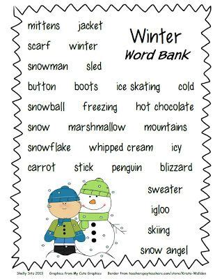 An Essay On Winter Season In Microsoft Word User Manual by 25 Best Ideas About Winter Words On Winter Literacy Kindergarten Preschool Winter