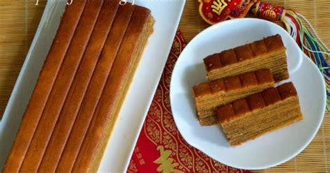 kueh lapis new year sweet cake of cake traditional kueh lapis