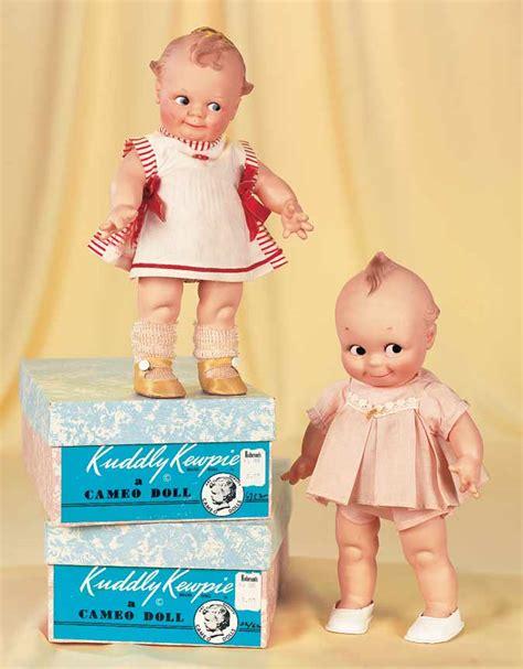 kewpie america american dolls 1950 1965 345 two kuddly kewpies by cameo