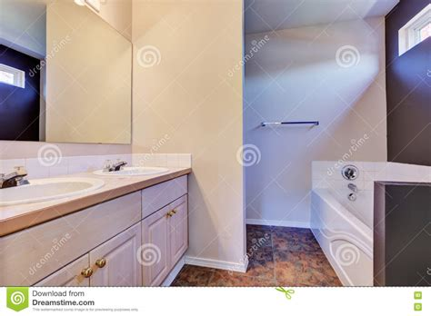 how to clean painted bathroom walls light clean minimal bathroom interior stock photo image