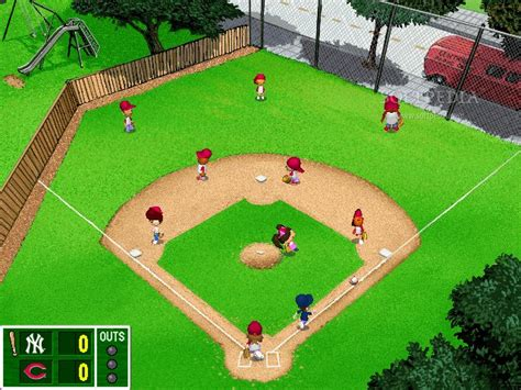 backyard baseball backyard baseball demo