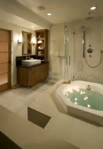 master bathroom  soaking tub asian bathroom san