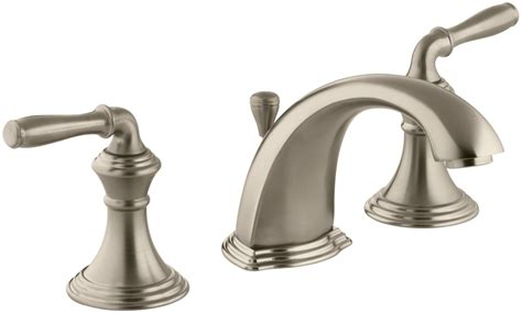 Kohler Devonshire Lavatory Faucet by Kohler K 394 4 Bv Vibrant Brushed Bronze Devonshire