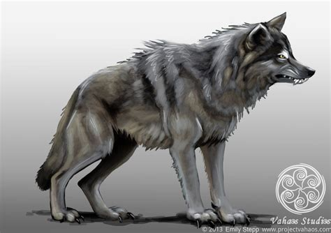 dire wolf dire wolf concept image project vahaos db