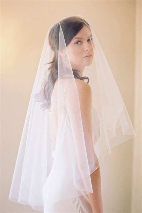 blusher veil, fingertip veil, bridal veil, drop veil