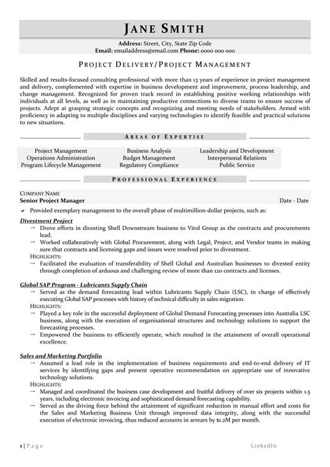 senior program manager resume samples visualcv resume samples database