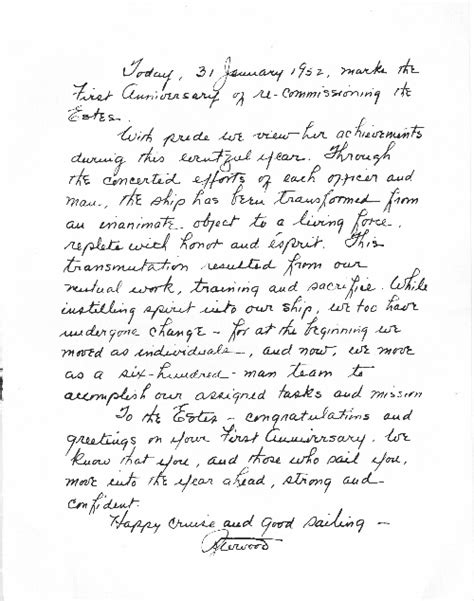 Letter On Anniversary Anniversary Letter Images Frompo
