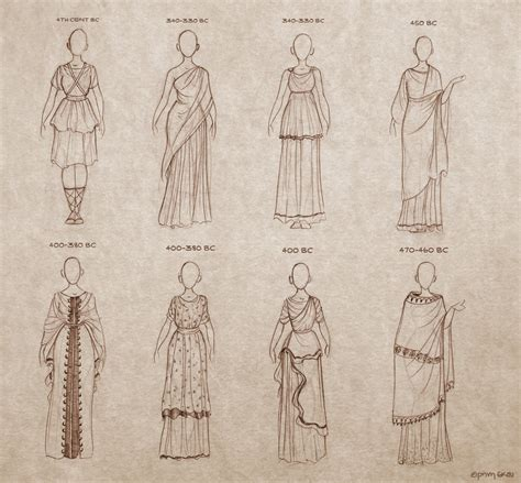 hairstyles ancient to present book ancient greek dresses by ninidu on deviantart