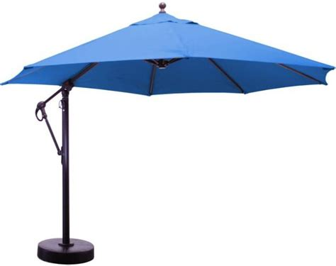 11 aluminum cantilever patio umbrella