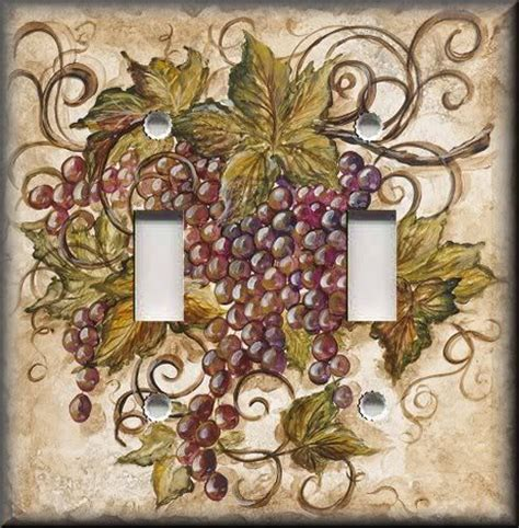 tuscany grapes kitchen decor 114 best images about light switch plates on pinterest