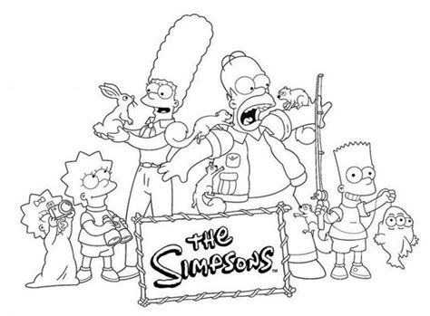 coloring pages of the simpsons christmas the simpsons christmas coloring pages 21 mejores imgenes