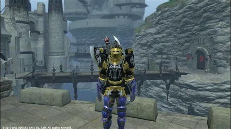 Fina Set xiv heavy darksteel armor