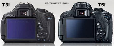 Canon Eos 700d Vs 600d canon rebel t3i vs t5i 600d vs 700d differences