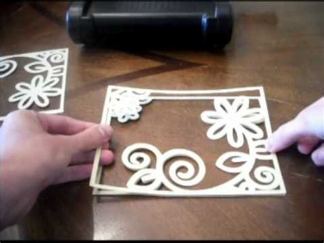 make your own file how to make your own embossing plate folders youtube